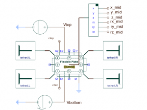 mems variable capacitor schematic